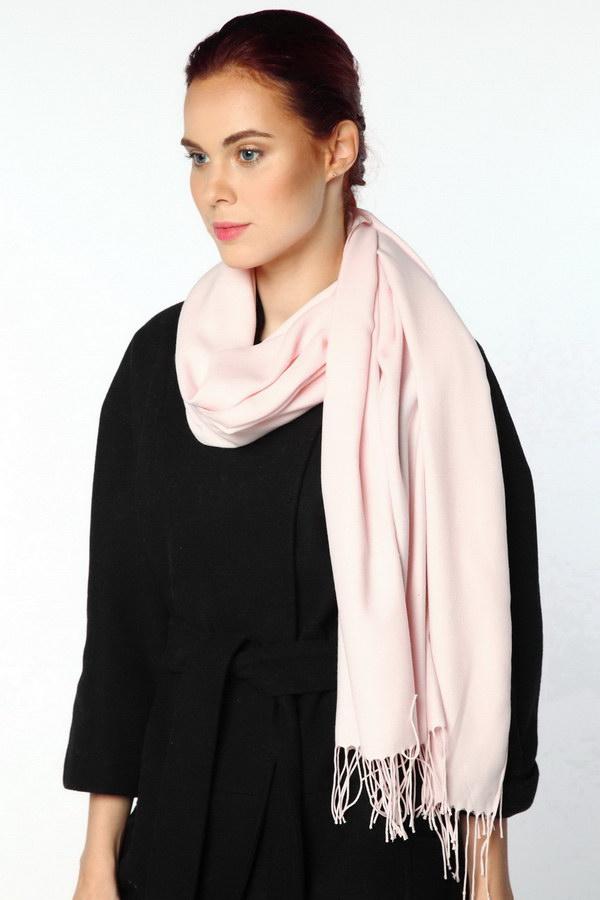 Палантин оптом P89-01-soft_pink