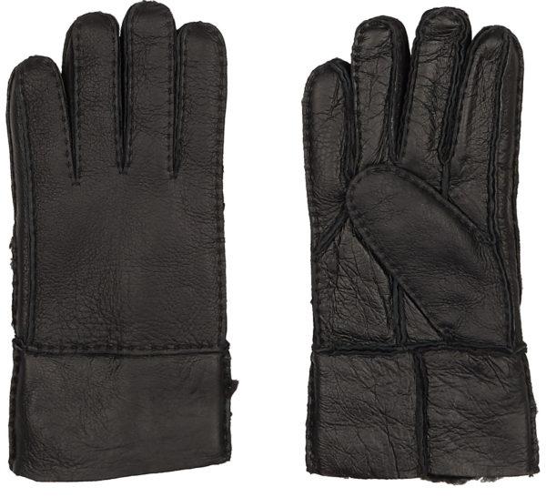 Перчатки мужские кожаные с манжетом оптом GLM-21902-10-