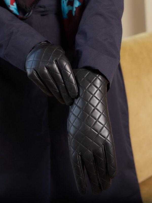 Перчатки женские кожаные оптом