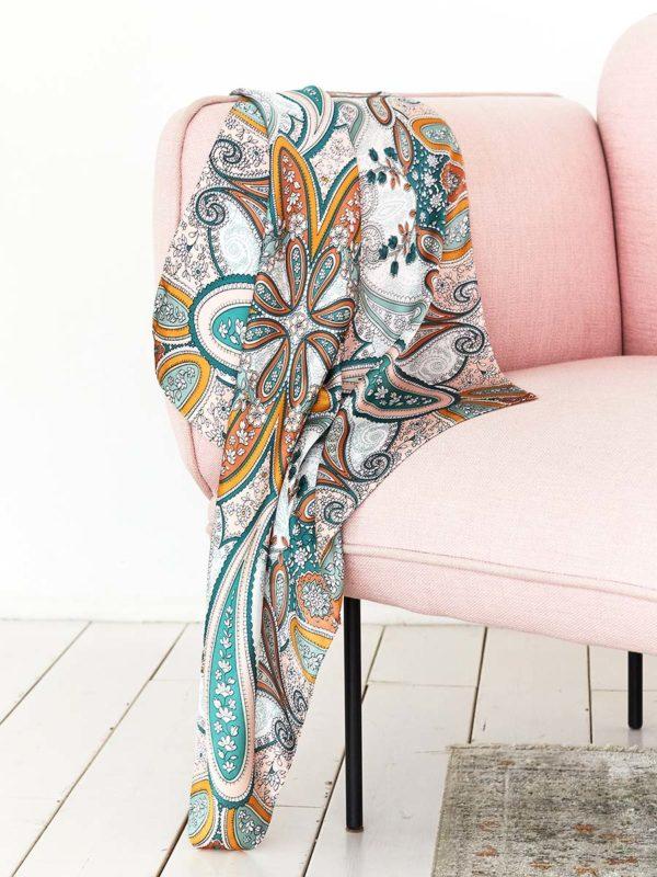 Шелковый платок с пейсли оптом