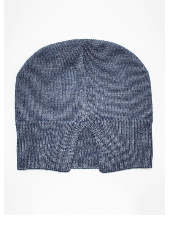 Тонкая шапка из шерсти и акрила оптом
