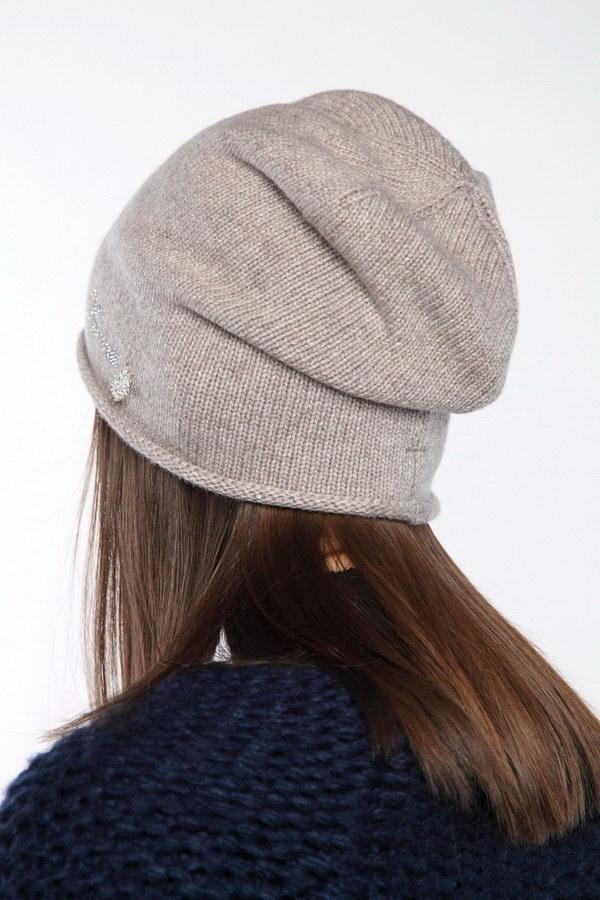 Вязаная шапка оптом 45714/2