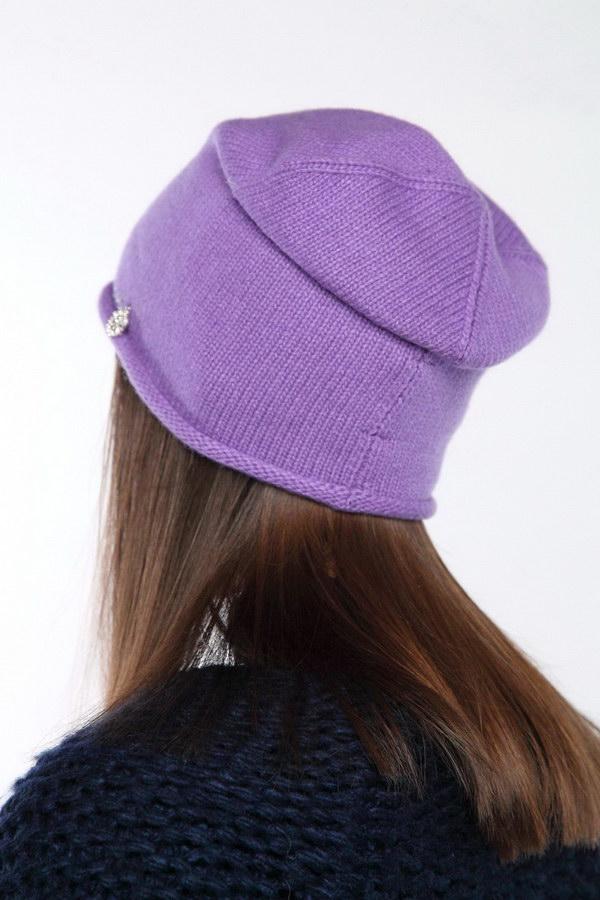 Вязаная шапка оптом 45714/7