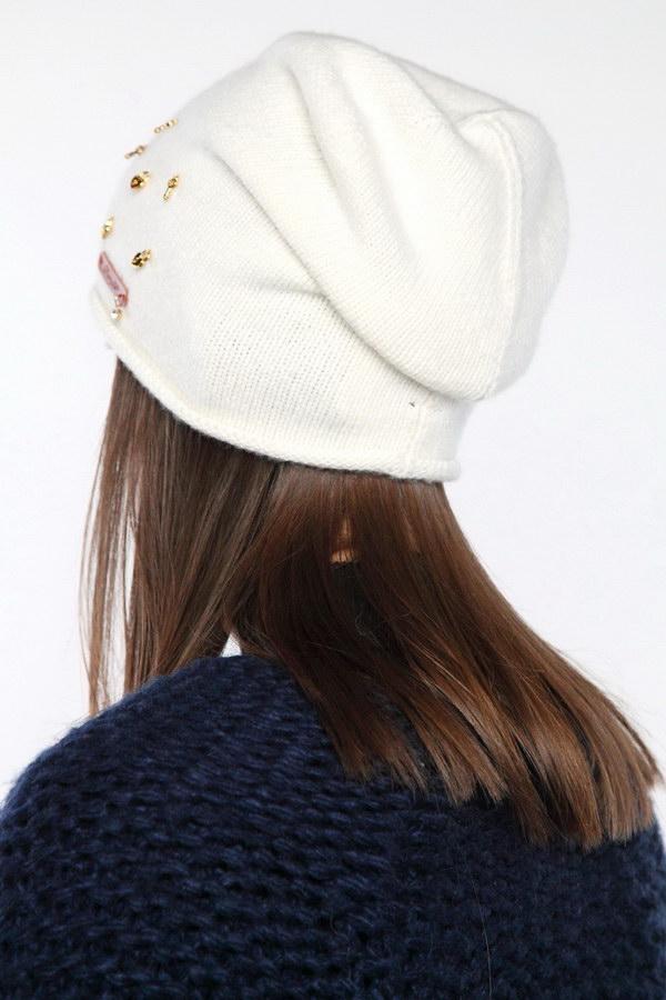 Вязаная шапка оптом 45716/1