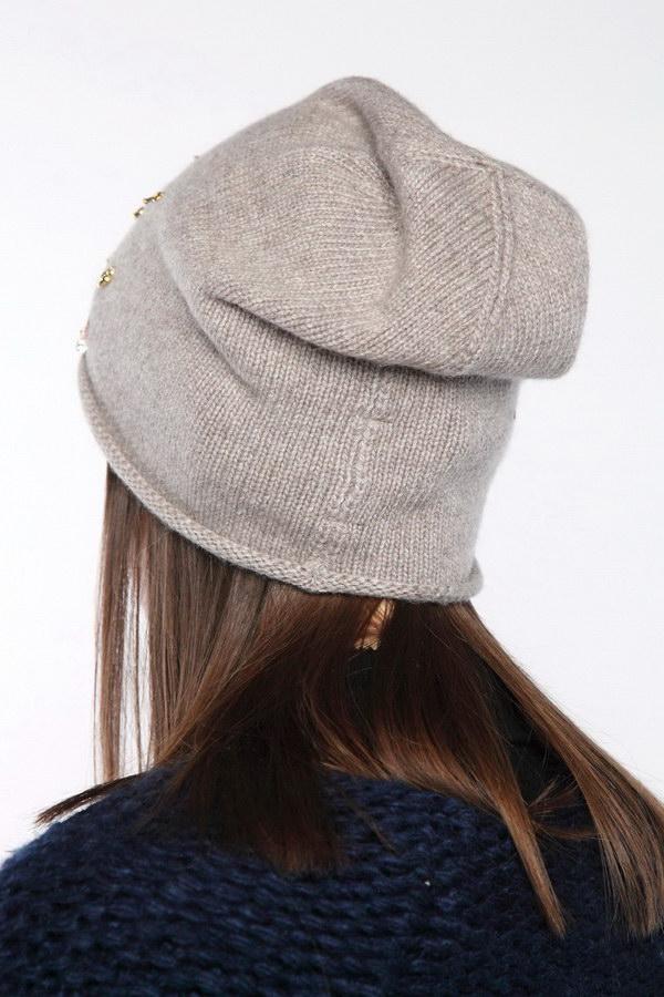 Вязаная шапка оптом 45716/2