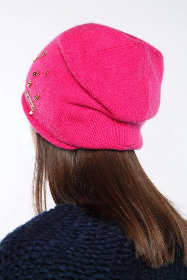Вязаная шапка оптом 45716/4