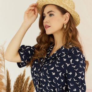 Женская соломенная шляпа оптом GN-120026