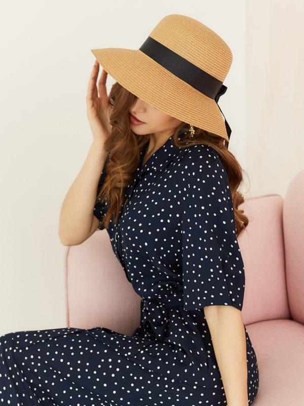 Женская соломенная шляпа оптом GN-120029