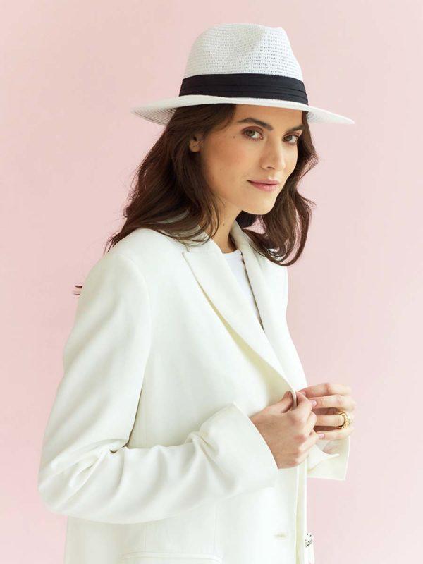 Женская соломенная шляпа оптом GN-120032