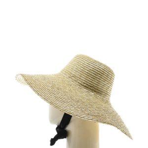 Женская соломенная шляпа с широкими полями оптом GN-120024