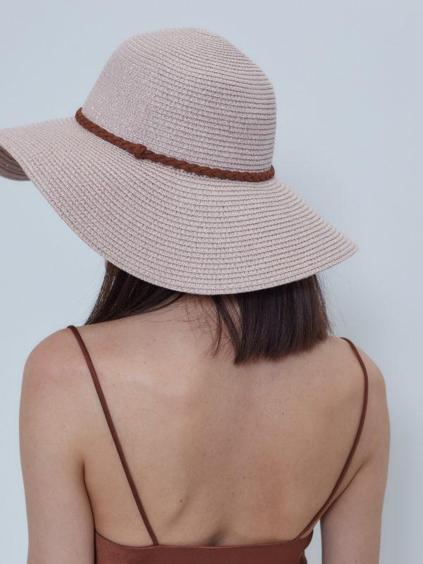 Шляпа Розовый
