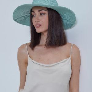 Шляпа Бирюзовый