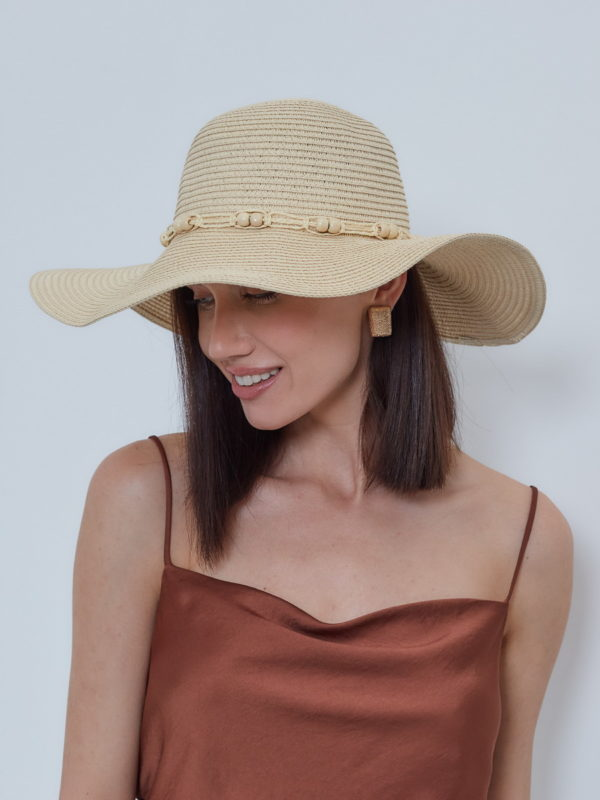 Шляпа Бежевый