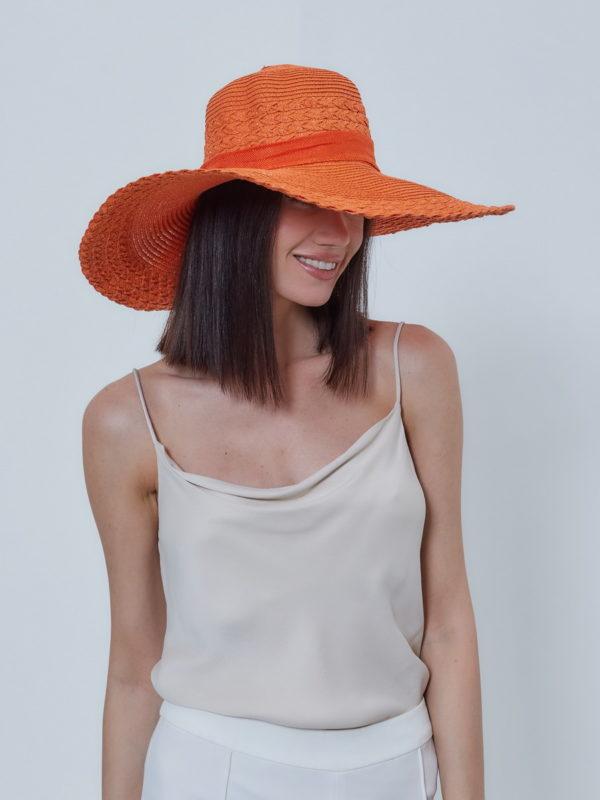 Шляпа женская Оранжевый