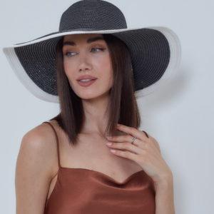 Шляпа женская Черный