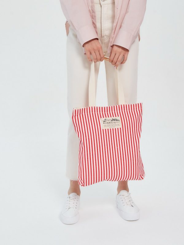 Текстильная сумка Красный